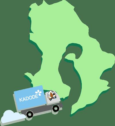 鹿児島県の地図1
