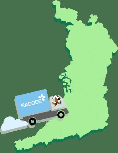 大阪府の地図1