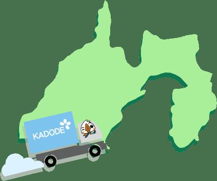 静岡県の地図1