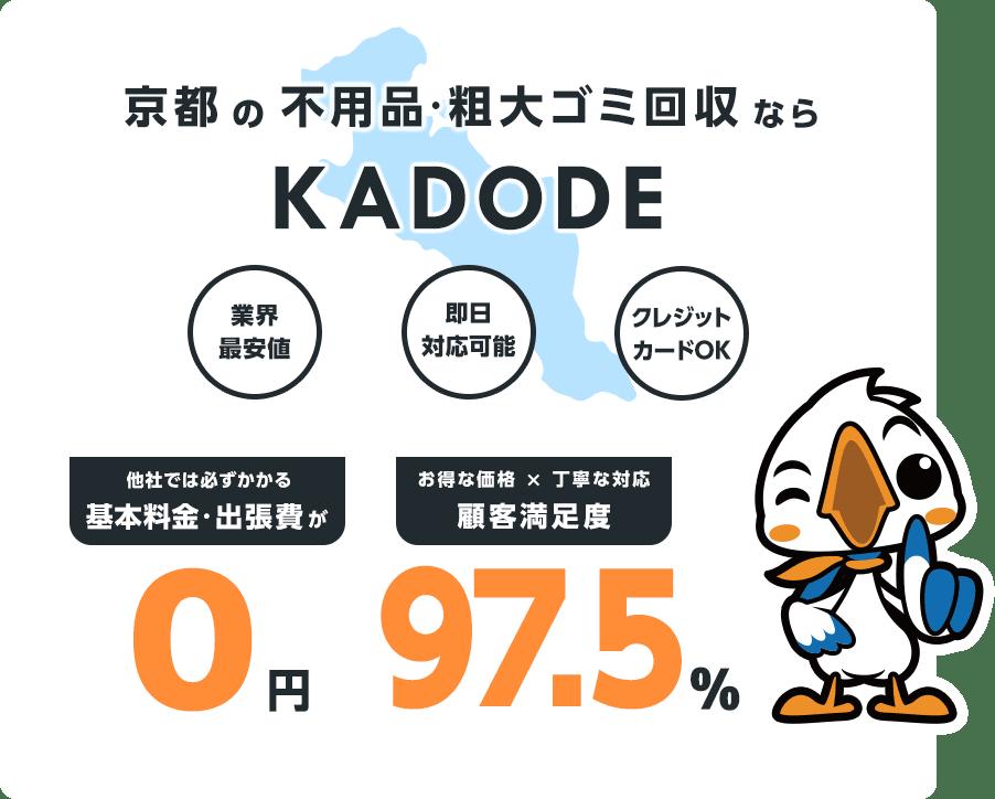 京都府の不用品・粗大ごみ回収ならKADODE