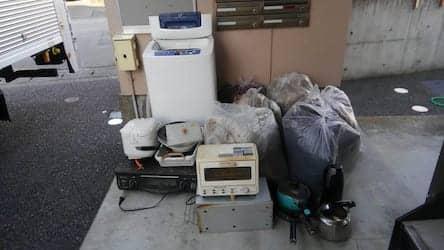 静岡県富士市不用品回収前画像