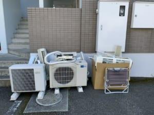 静岡県静岡市清水区不用品回収前画像