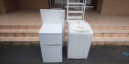 静岡県富士宮市周辺不用品回収前画像