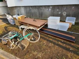 神奈川県川崎市不用品回収前画像