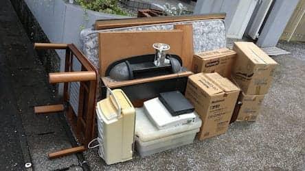 長崎県南島原市周辺不用品回収前画像