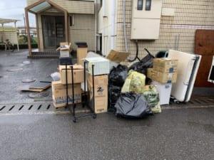 大分県大分市不用品回収前画像