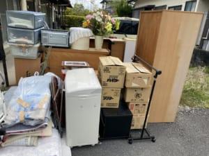 佐賀県佐賀市不用品回収前画像