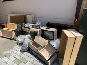 静岡県浜松市西区不用品回収前画像
