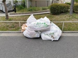 大阪府堺市堺区不用品回収前画像