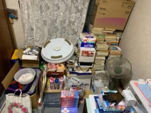 大阪府堺市美原区不用品回収前画像