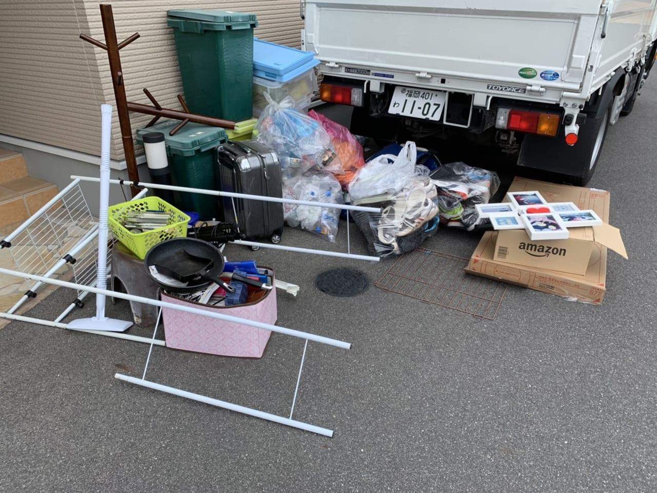 山口県下松市不用品回収前画像