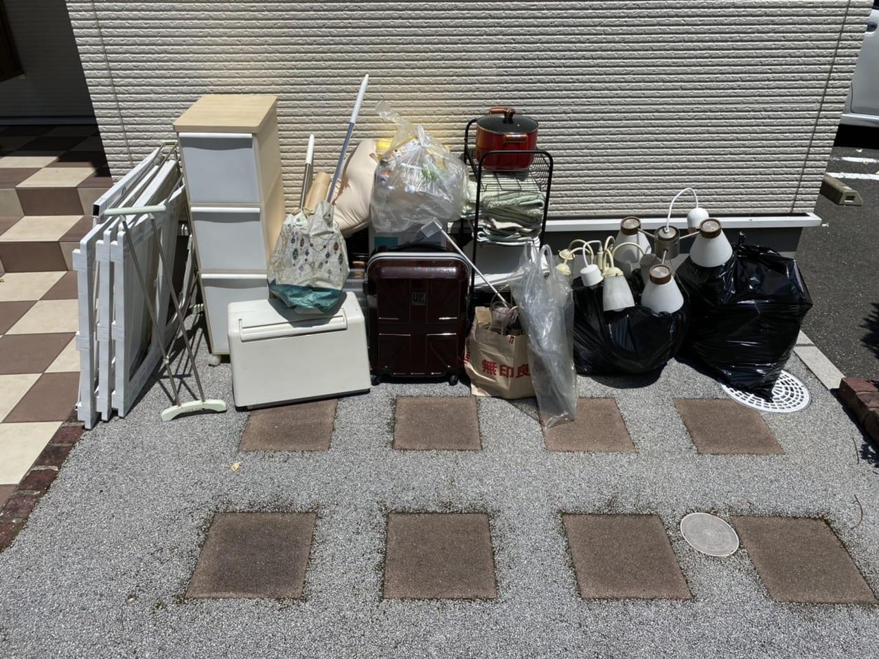 山口県下関市不用品回収前画像