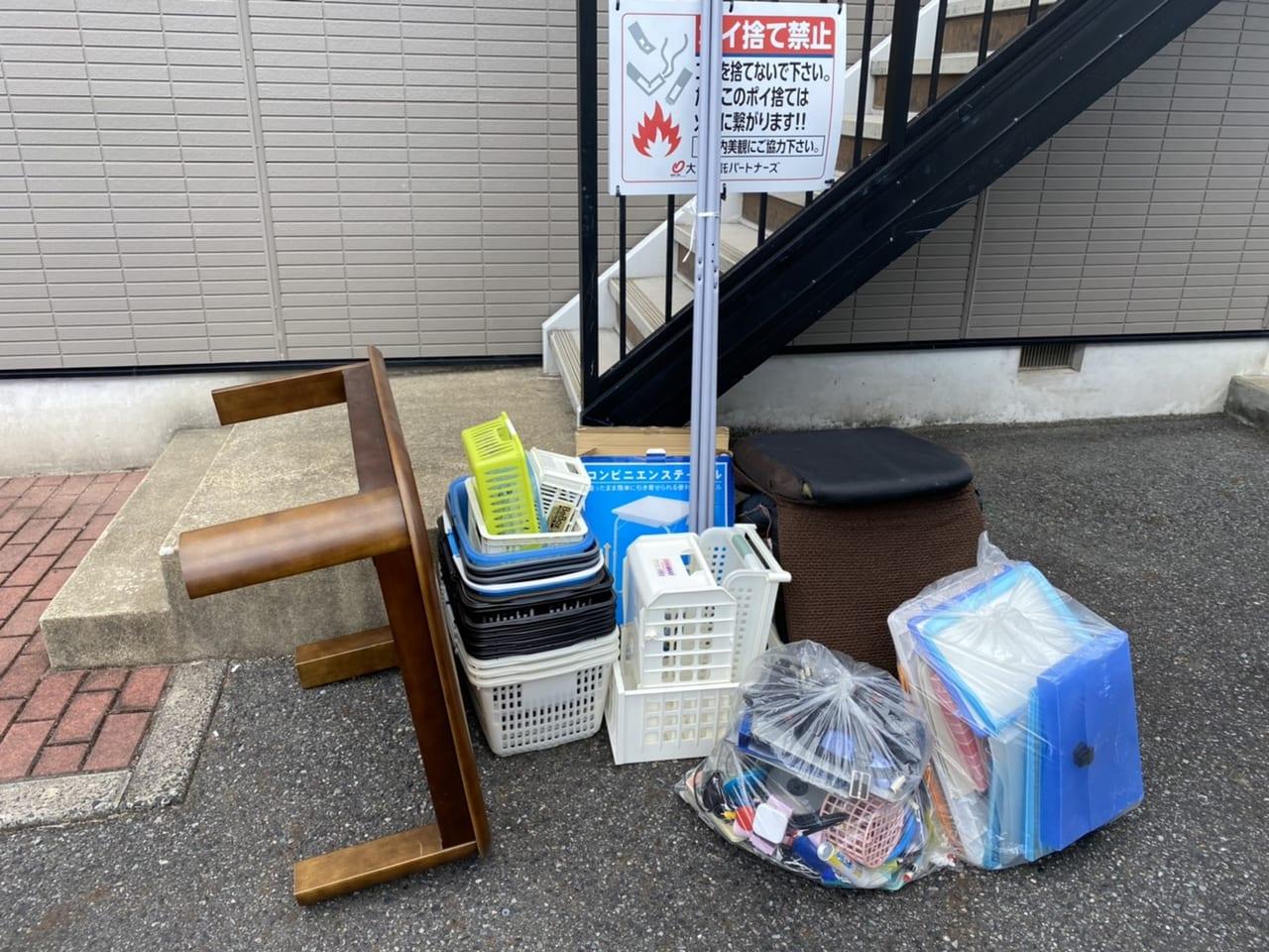 山口県熊毛郡田布施町周辺不用品回収前画像