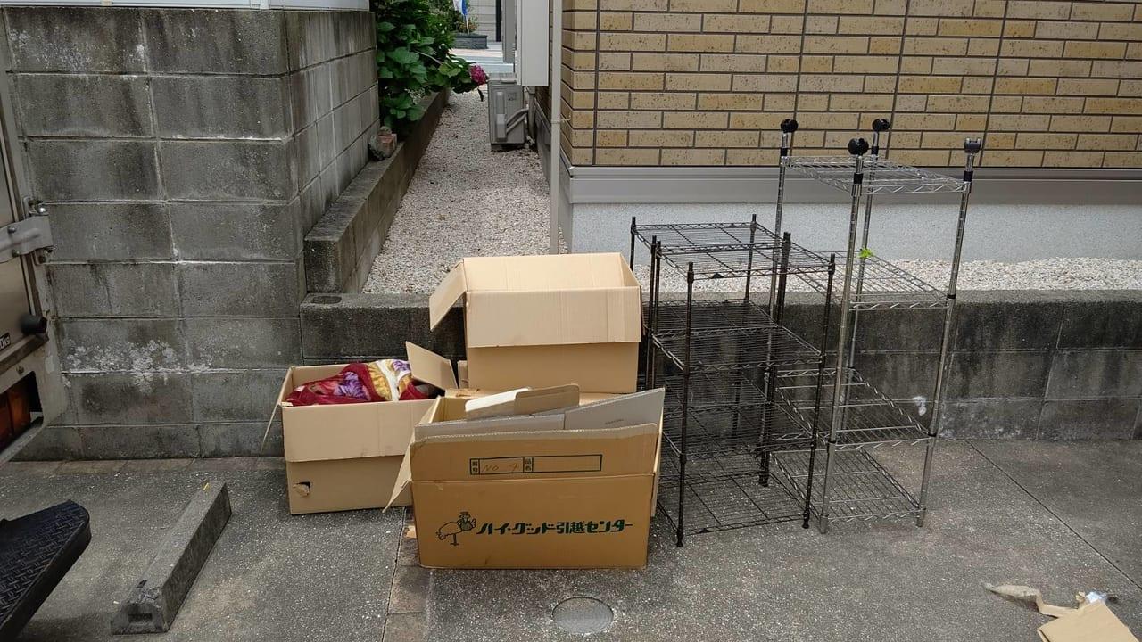 福岡県久留米市不用品回収前画像