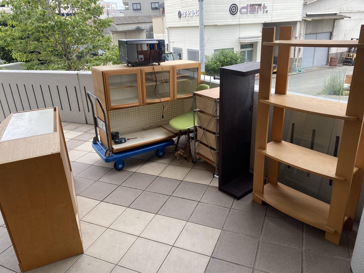 福岡県久留米市周辺不用品回収前画像