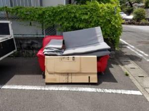 大分県別府市不用品回収前画像