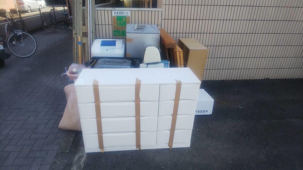 宮崎県日向市周辺不用品回収前画像