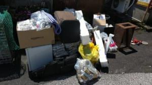 大分県佐伯市不用品回収前画像