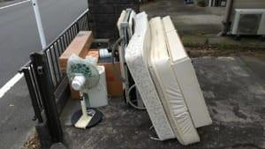 宮崎県都城市不用品回収前画像