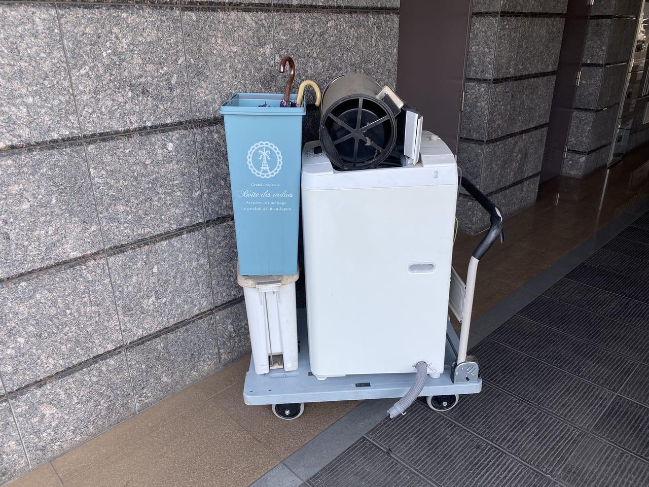 福岡県北九州市小倉南区周辺不用品回収前画像