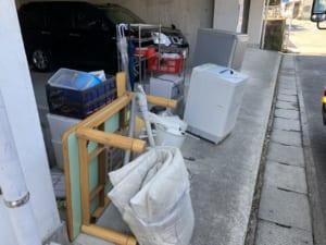長崎県長崎市不用品回収前画像