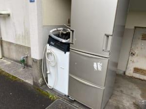 長崎県諫早市周辺不用品回収前画像