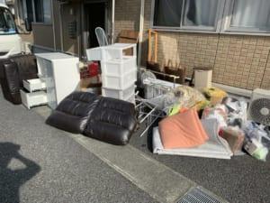 埼玉県さいたま市北区周辺不用品回収前画像