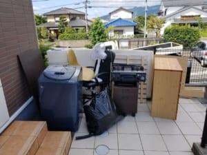 佐賀県鳥栖市不用品回収前画像