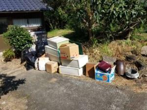 佐賀県小城市周辺不用品回収前画像