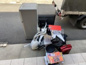 埼玉県さいたま市見沼区周辺不用品回収前画像
