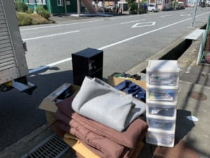 大分県大分市周辺不用品回収前画像