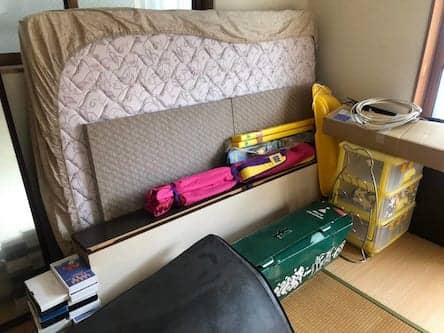 岡山県備前市周辺のS様不用品回収前画像