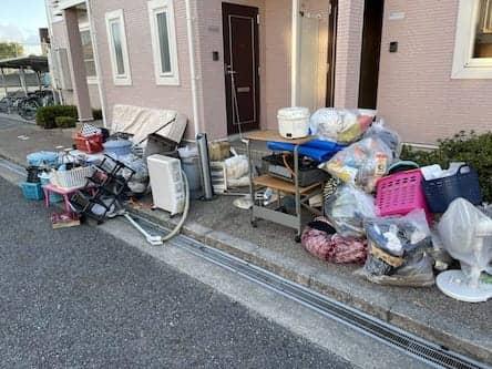 岡山県坂出市周辺のM様不用品回収前画像