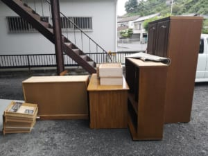 宮崎県日南市周辺不用品回収前画像