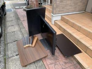 三重県四日市市周辺不用品回収前画像