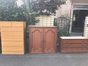 三重県鈴鹿市不用品回収前画像