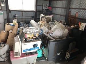 滋賀県近江八幡市不用品回収前画像