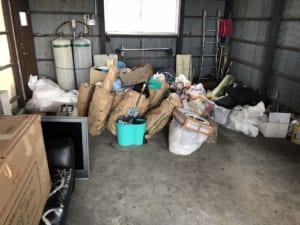 滋賀県近江八幡市不用品回収後画像