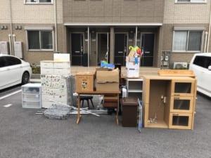 滋賀県彦根市不用品回収前画像