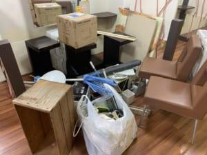 東京都杉並区周辺不用品回収前画像