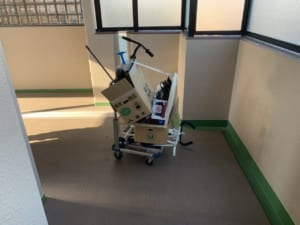 東京都文京区周辺不用品回収前画像