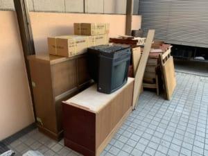 東京都品川区周辺不用品回収前画像