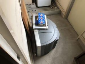 静岡県磐田市周辺不用品回収前画像