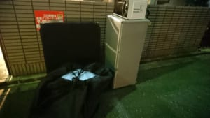 東京都練馬区不用品回収前画像