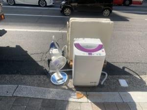 広島県広島市安佐北区周辺不用品回収前画像
