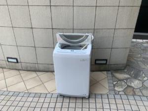 広島県広島市南区周辺不用品回収前画像