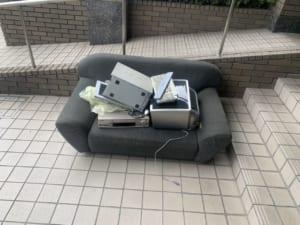 広島県東広島市周辺不用品回収前画像