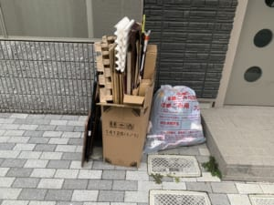 広島県呉市周辺不用品回収前画像