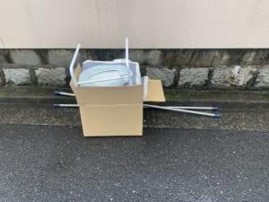 広島県福山市周辺不用品回収前画像