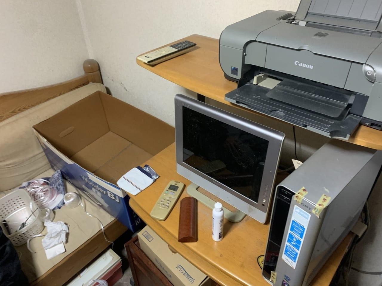 愛知県名古屋市千種区周辺不用品回収前画像